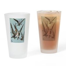 Flying Color Drinking Glass