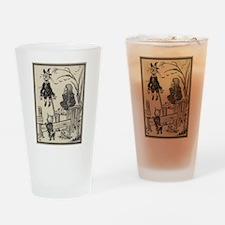 Dorthy & Scarecrow Drinking Glass