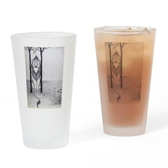 Cowardly Lion Drinking Glass
