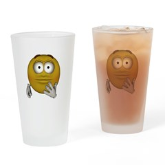 Disappointed Drinking Glass