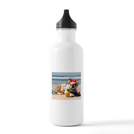 Tiki Girl Stainless Water Bottle 1.0L