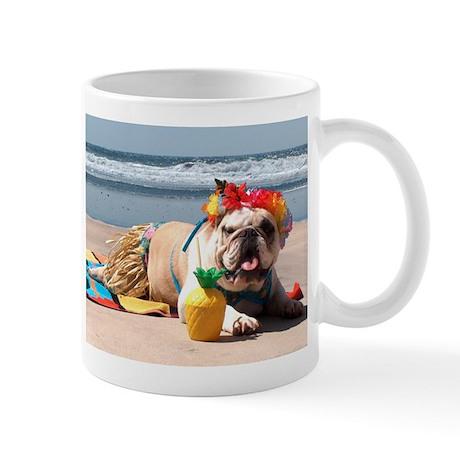 Tiki Girl Mug