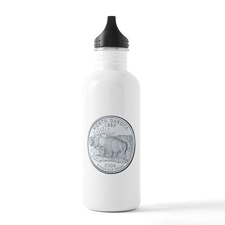 North Dakota Stainless Water Bottle 1.0L