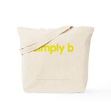 simply b Tote Bag