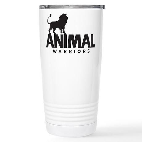 Animal Warriors Stainless Steel Travel Mug