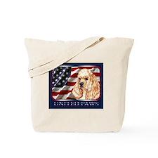 Cocker Spaniel A Dog Flag USA Tote Bag
