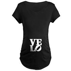 Velo Love Maternity Dark T-Shirt
