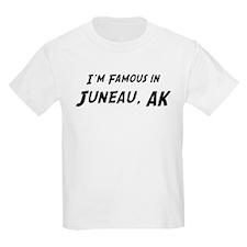 Famous in Juneau Kids T-Shirt