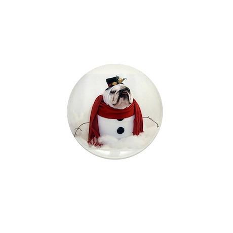 Snowman Mini Button (100 pack)