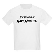 Famous in Navi Mumbai Kids T-Shirt