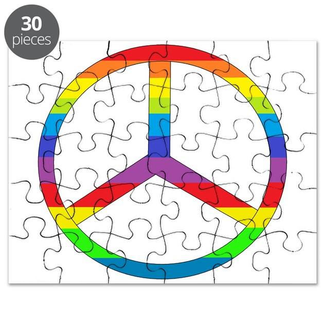 peace coloring pages puzzle - photo#20