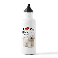 I Love My Bichon Frise Water Bottle