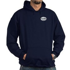 Provincetown MA - Oval Design. Hoodie