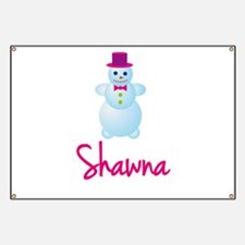 Shawna the snow woman Banner