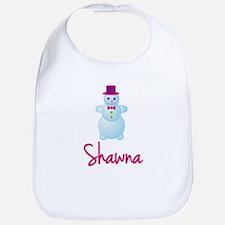 Shawna the snow woman Bib
