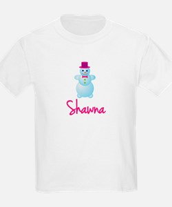 Shawna the snow woman T-Shirt