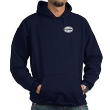 Provincetown MA - Oval Design. Hoody
