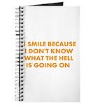 I smile merchandise Journal