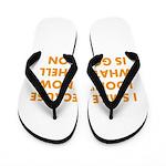 I smile merchandise Flip Flops