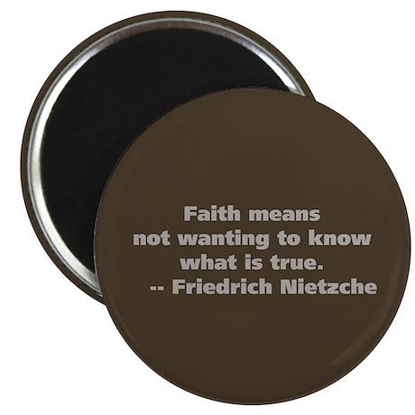 Faith Means Magnet