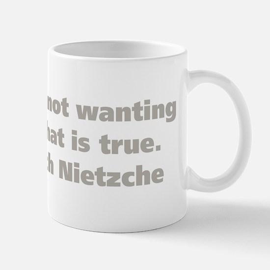 Faith Means Mug