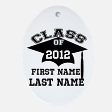 Customizable Senior Ornament (Oval)