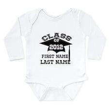 Customizable Senior Long Sleeve Infant Bodysuit