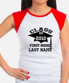 Customizable Senior Women's Cap Sleeve T-Shirt
