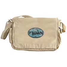 Provincetown MA - Oval Design. Messenger Bag