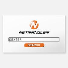 Custom Dexter Netrangler Search Decal