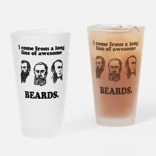 I come from a long line of aw Drinking Glass