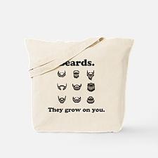 Beards - They Grow On You Tote Bag