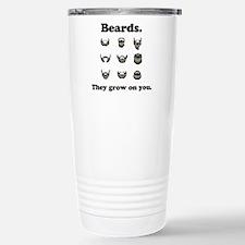 Beards - They Grow On You Travel Mug