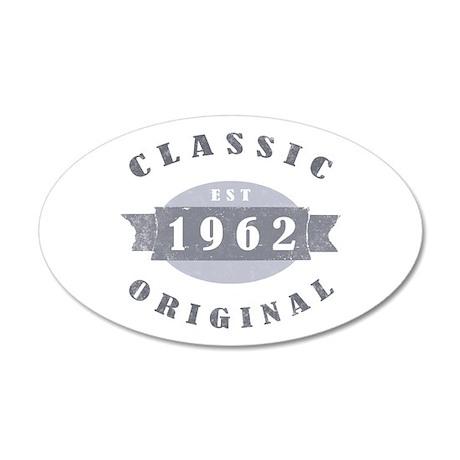1962 Classic Original 22x14 Oval Wall Peel
