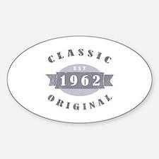 1962 Classic Original Sticker (Oval)