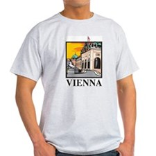 Vienna Ash Grey T-Shirt