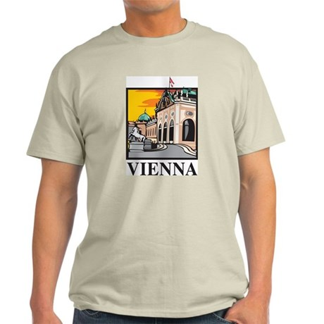 Vienna Ash Grey T-Shirt