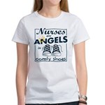 Nurses Are Angels Women's T-Shirt