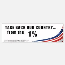 Take Back Country Bumper Stic Sticker (Bumper)