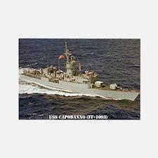 USS CAPODANNO Rectangle Magnet