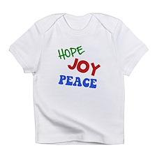 Hope Joy Peace Infant T-Shirt