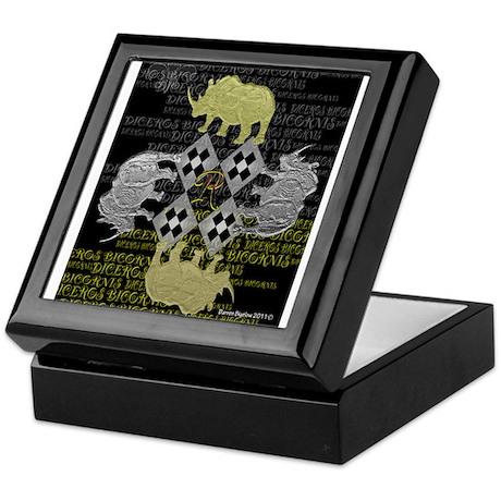 rhino square Keepsake Box