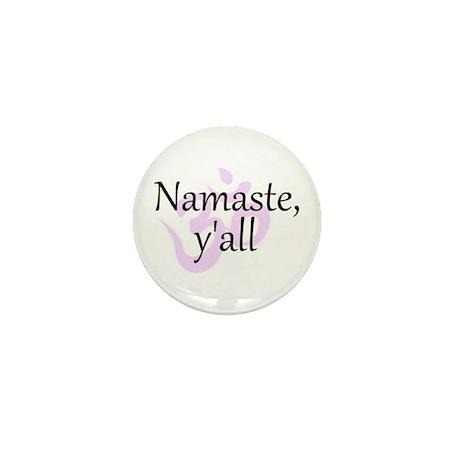 Namaste, Y'all Mini Button