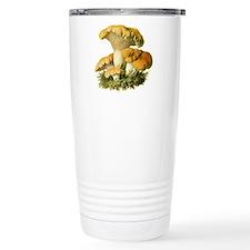 Mushroom Print Travel Mug