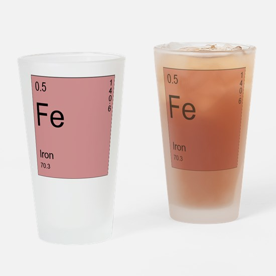 Fe Drinking Glass