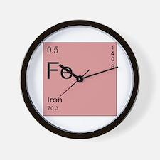 Fe Wall Clock