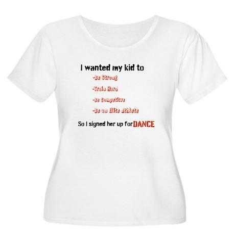 Elite Athlete Plus Size T-Shirt