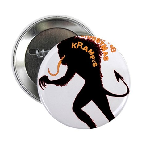 "Beware the Krampus 2.25"" Button (100 pack)"