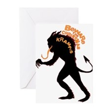Beware the Krampus Greeting Cards (Pk of 10)