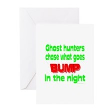 Ghost Hunters Bump in Night Greeting Cards (Pk of